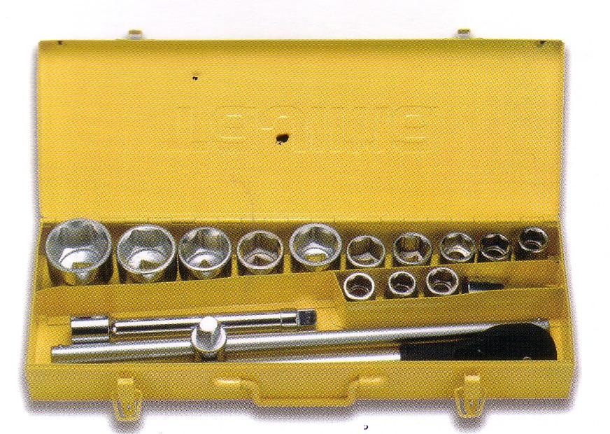 Bộ khẩu vặn 18 chi tiết TS-18